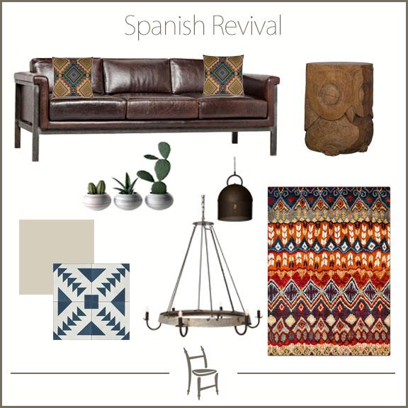 Spanish Revival Design Board