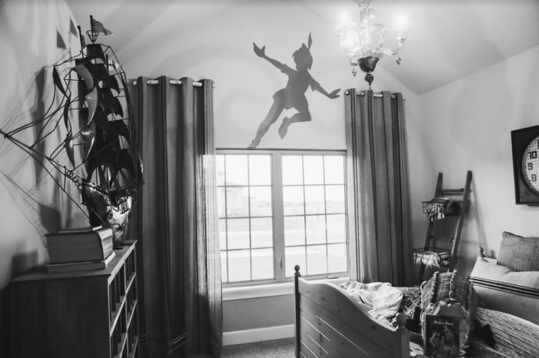 Peter Pan themed room by HHC Living in Texas