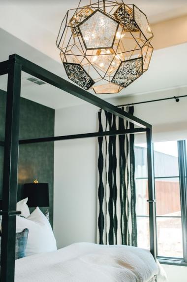 Unique Bedroom Lighting