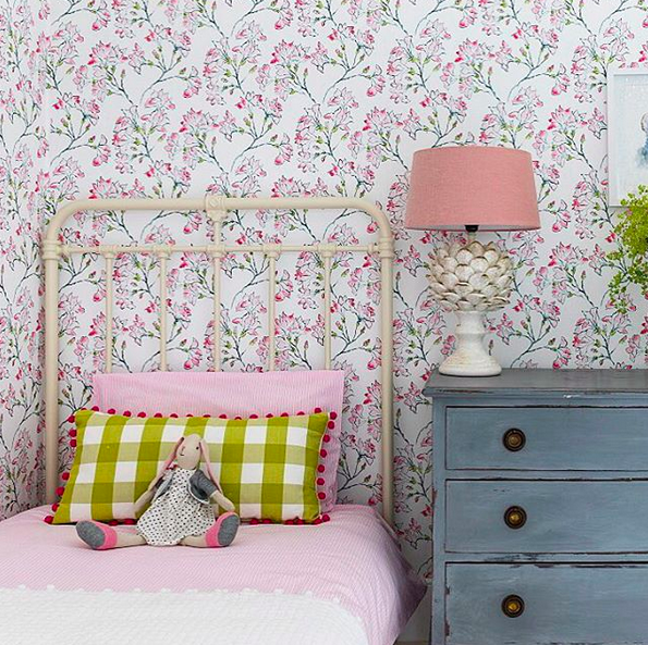 Floral Girls Room