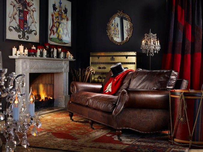 Dark English Decor