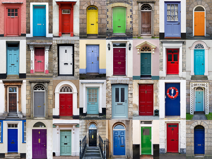 Come on in! A look at door design options.